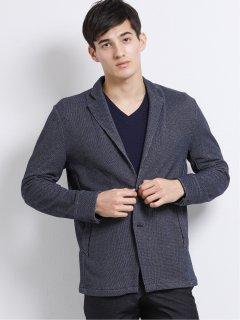 変形ミニ裏毛2釦テーラードジャケット