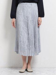 オパール加工プリーツスカート