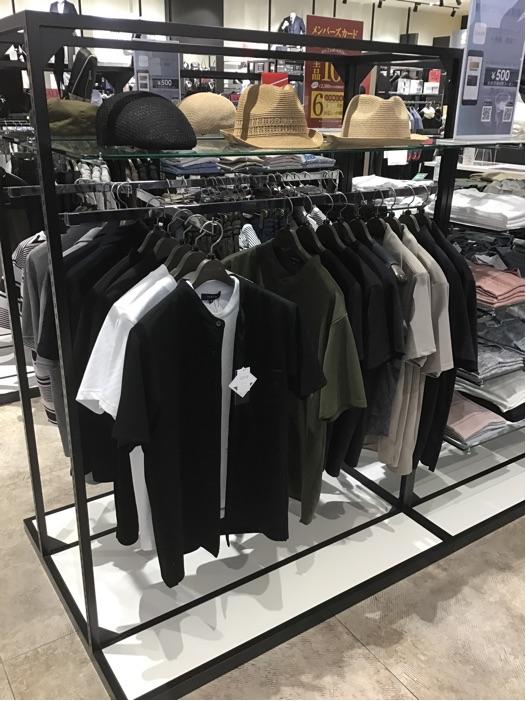 【タカキュー半袖シャツの上品モノトーンコーデ】 タカキュー高岡店
