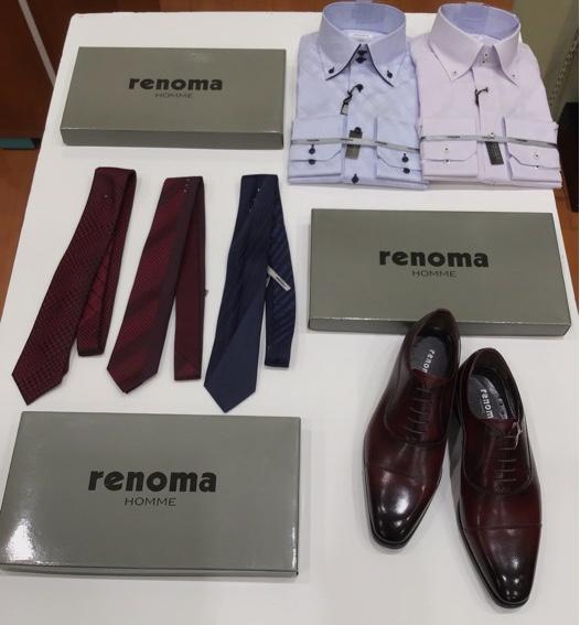 『renoma』ブランドリニューアルオープン