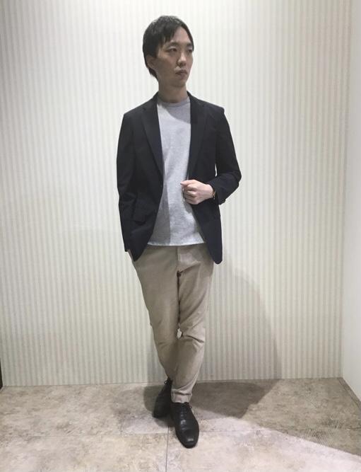 【今こそジャケット+Tシャツスタイルがおすすめ!】 タカキュー高岡店