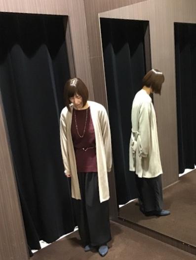 重ね着アイテムでトータルコーデ☆(mf仙台泉大沢店)