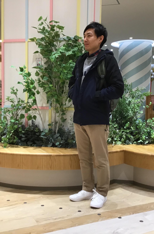 冬のメンズコーディネート☆