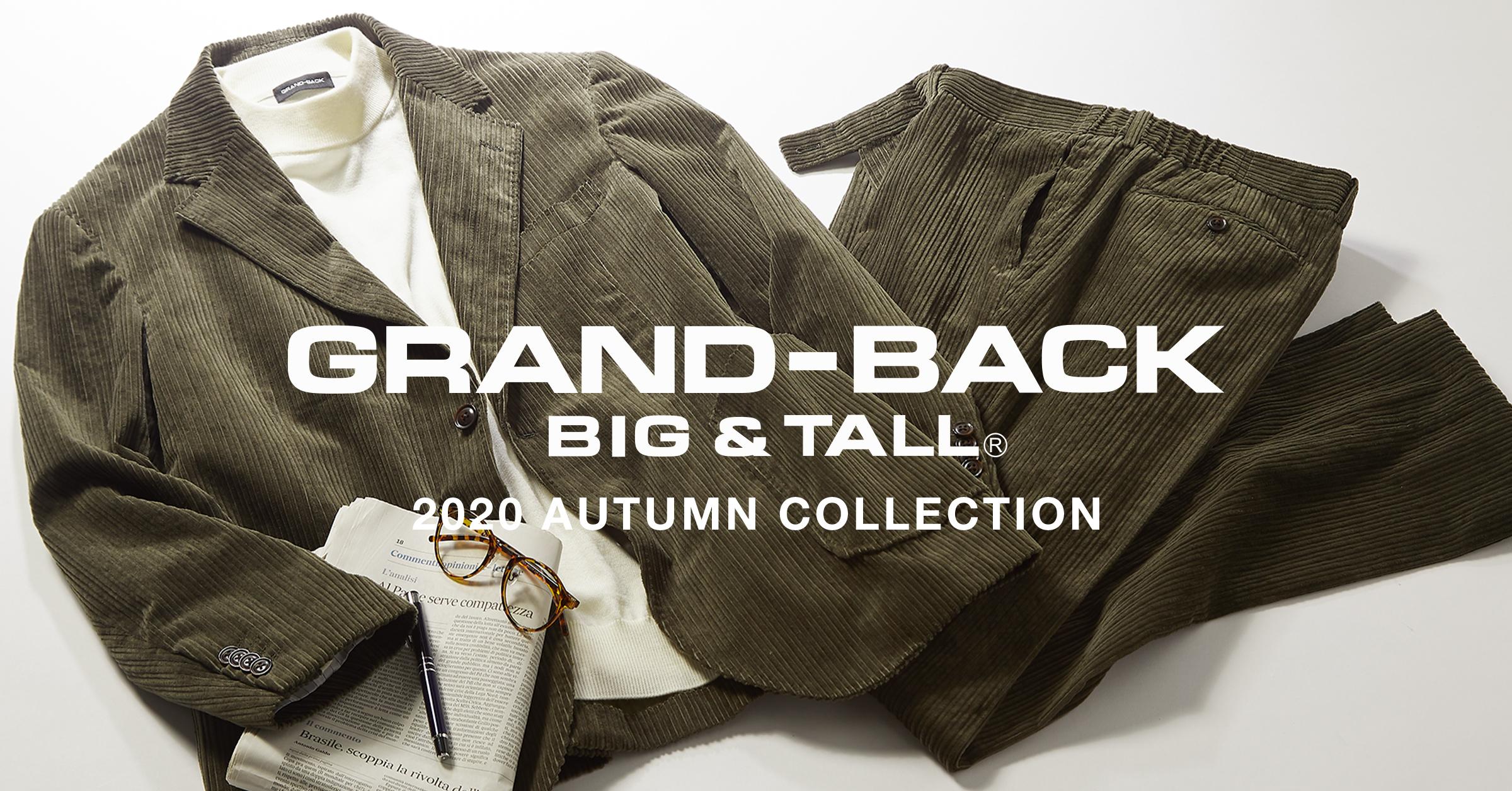 GRAND-BACK  2020  秋カタログ