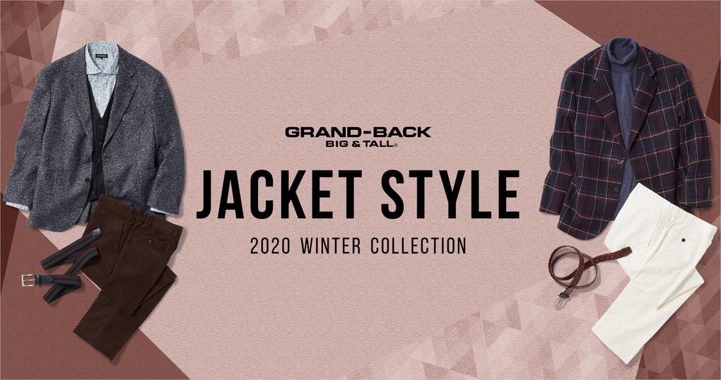 GRAND-BACK 2020 冬 ジャケット スタイル