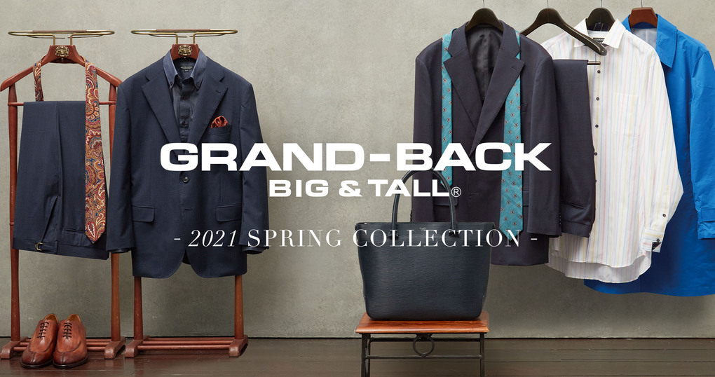 2021 GRAND-BACK Spring Look Book