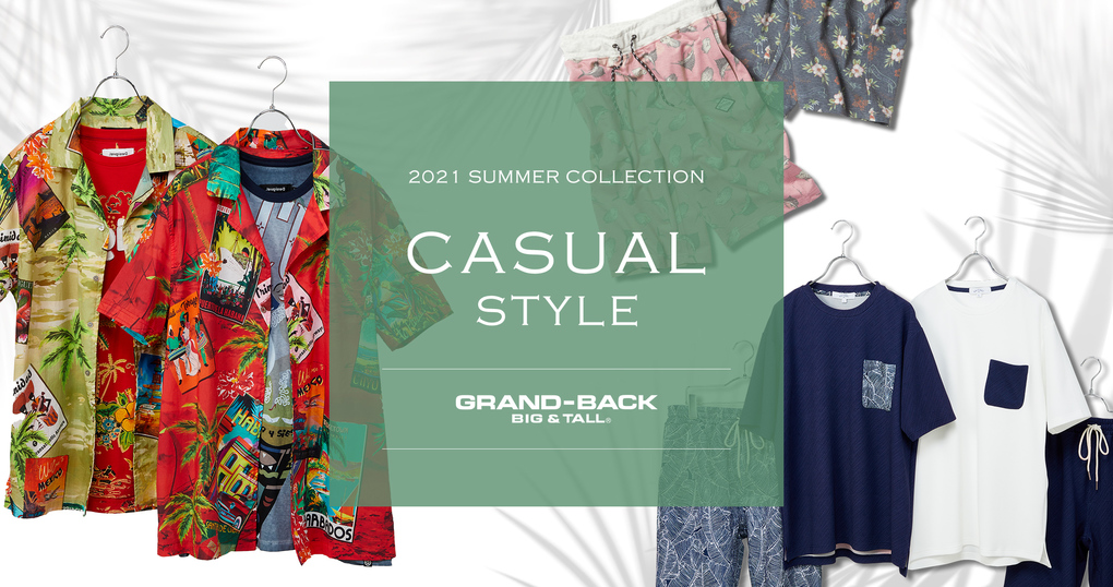 2021 SUMMER COLLECTION【CASUAL】
