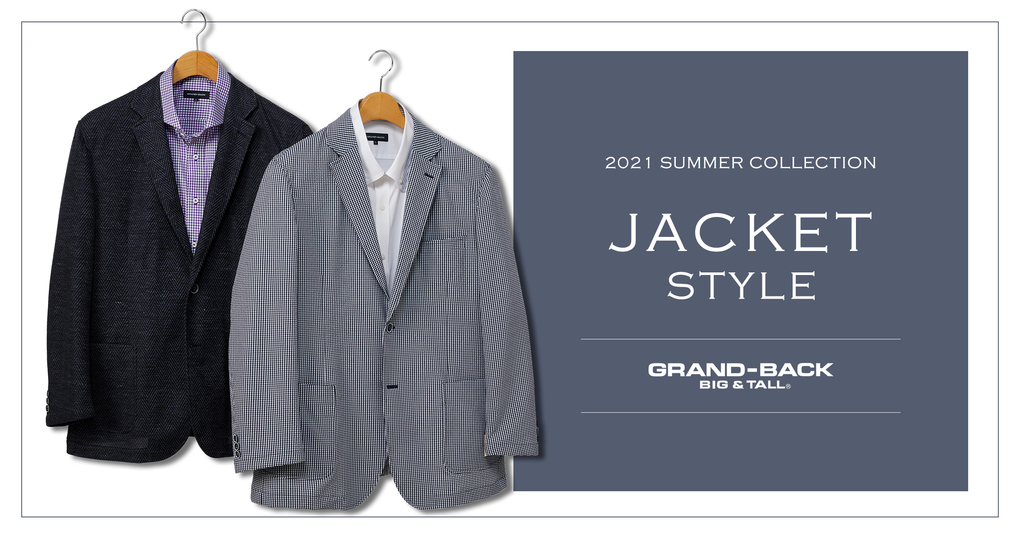 2021 SUMMER COLLECTION【JACKET&PANTS】