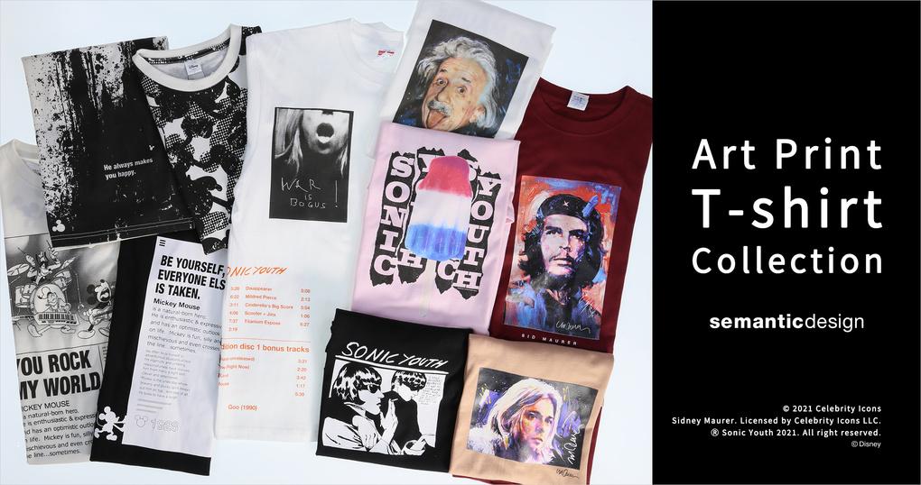 Art Print T-shirt collection