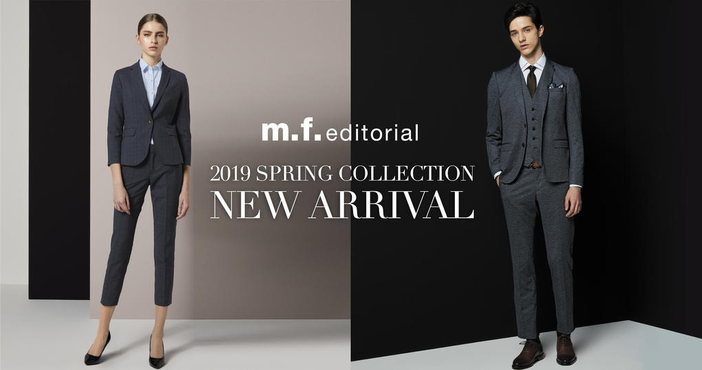 m.f.editorial 2019 SPRING COLLECTION