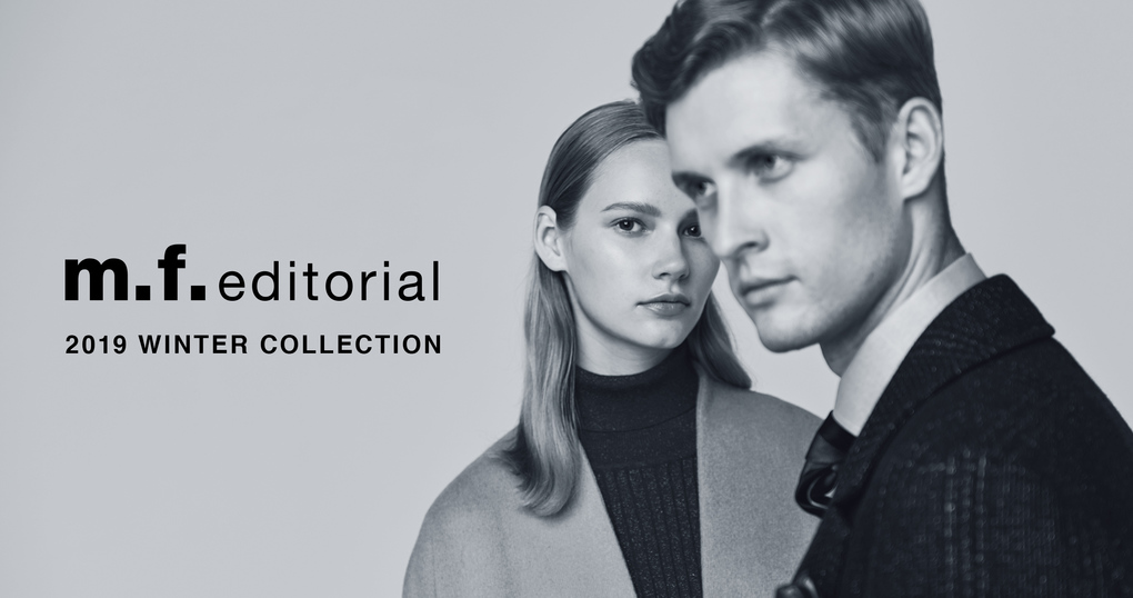 m.f.editorial 2019 WINTER COLLECTION