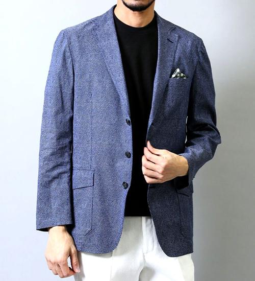 ビジネスからカジュアルまで【メンズジャケット】