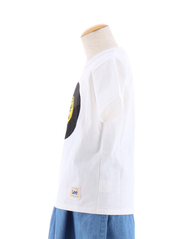 bd6671bf2304b リー/LEE KIDS レコードプリント半袖Tシャツ(110cm 04グレー): トップス ...