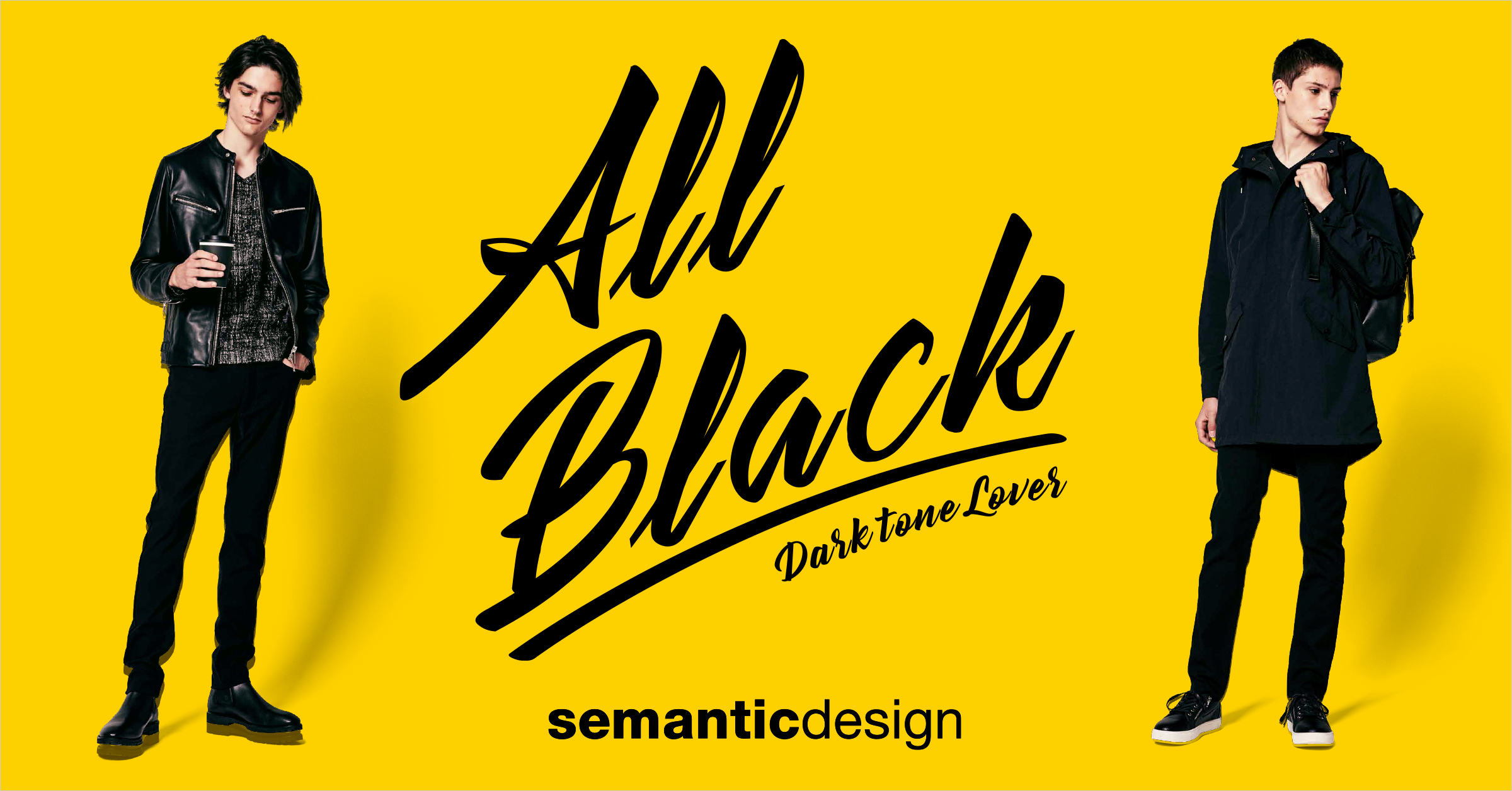 semantic design All Black