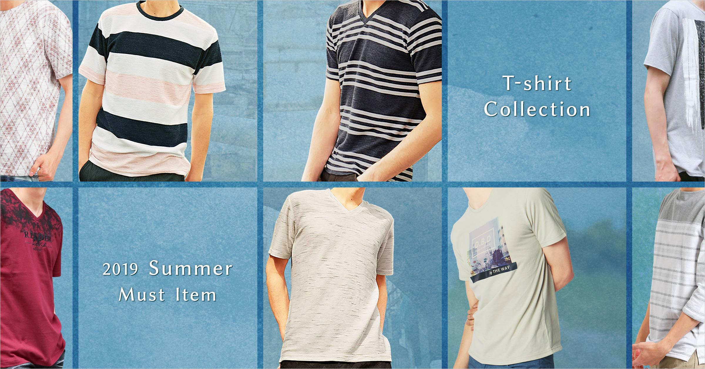 定番デザインから変わり種まで Tシャツコレクション