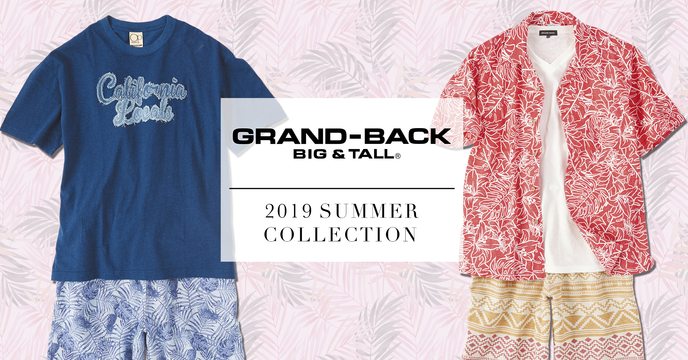 GRANDBACK Summer Collection
