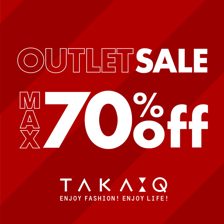 MAX70%OFF!OUTLET SALE