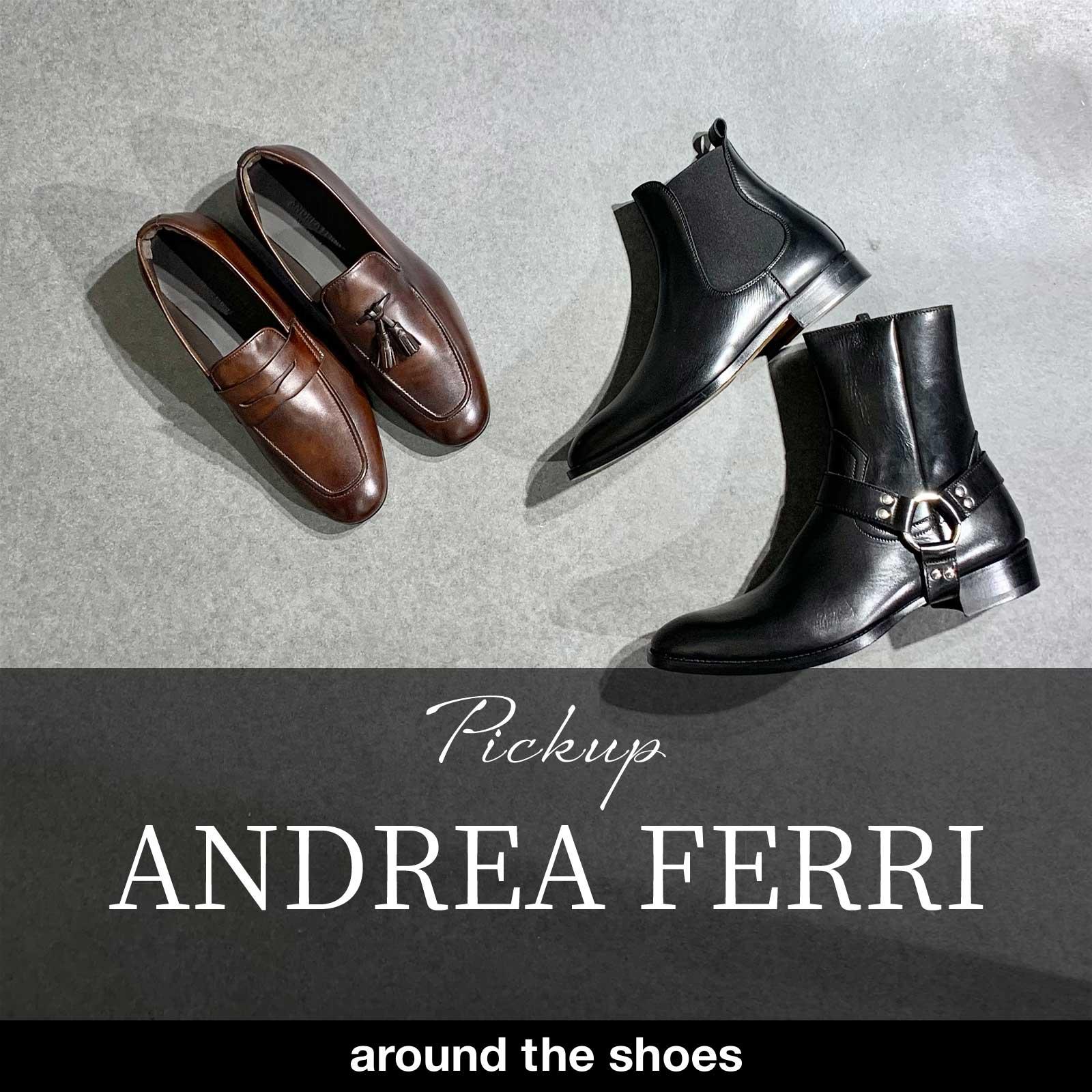 アンドレア・フェッリ/ANDREA FERRI NEW COLLECTION