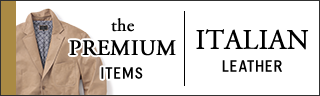 the PREMIUM ITEMS | ITALIAN LEATHER