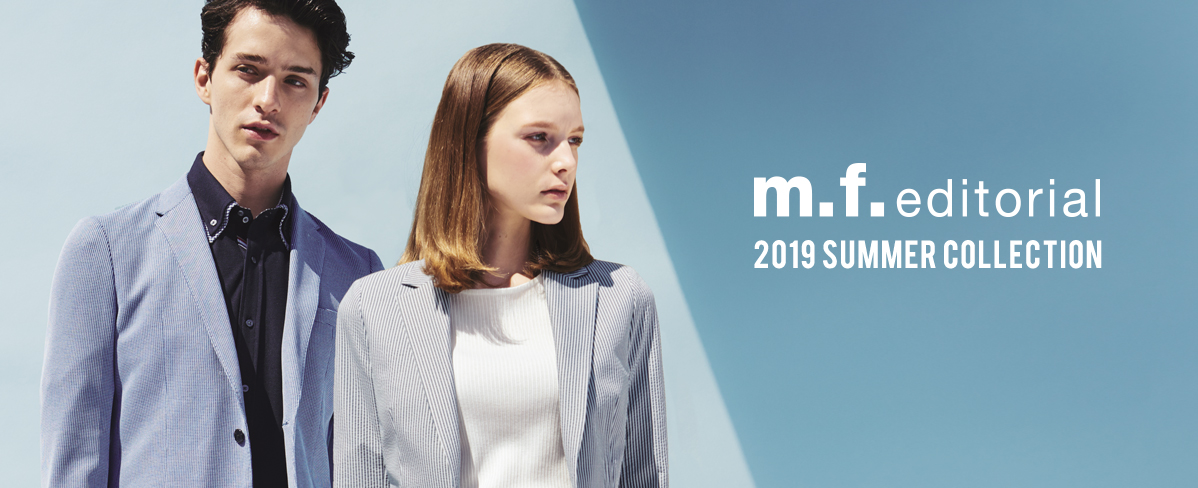 m.f.editiorial 2019 SUMMER COLLECTION