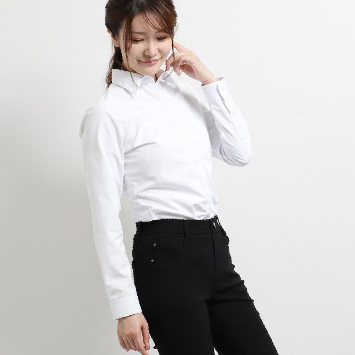白無地レギュラーカラーシャツ