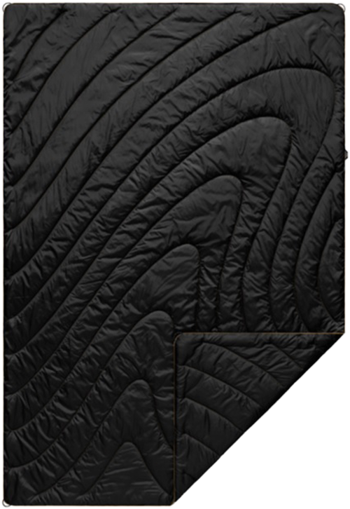 Rumpl PUFFY BLANKET BLACK