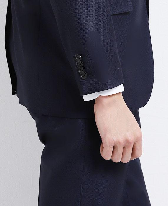 シャツが1.5cm見える袖
