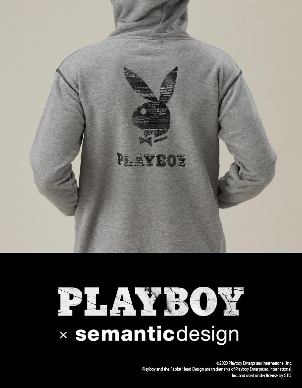 2 PLAYBOY × semanticdesign(プレイボーイ × セマンティックデザイン)