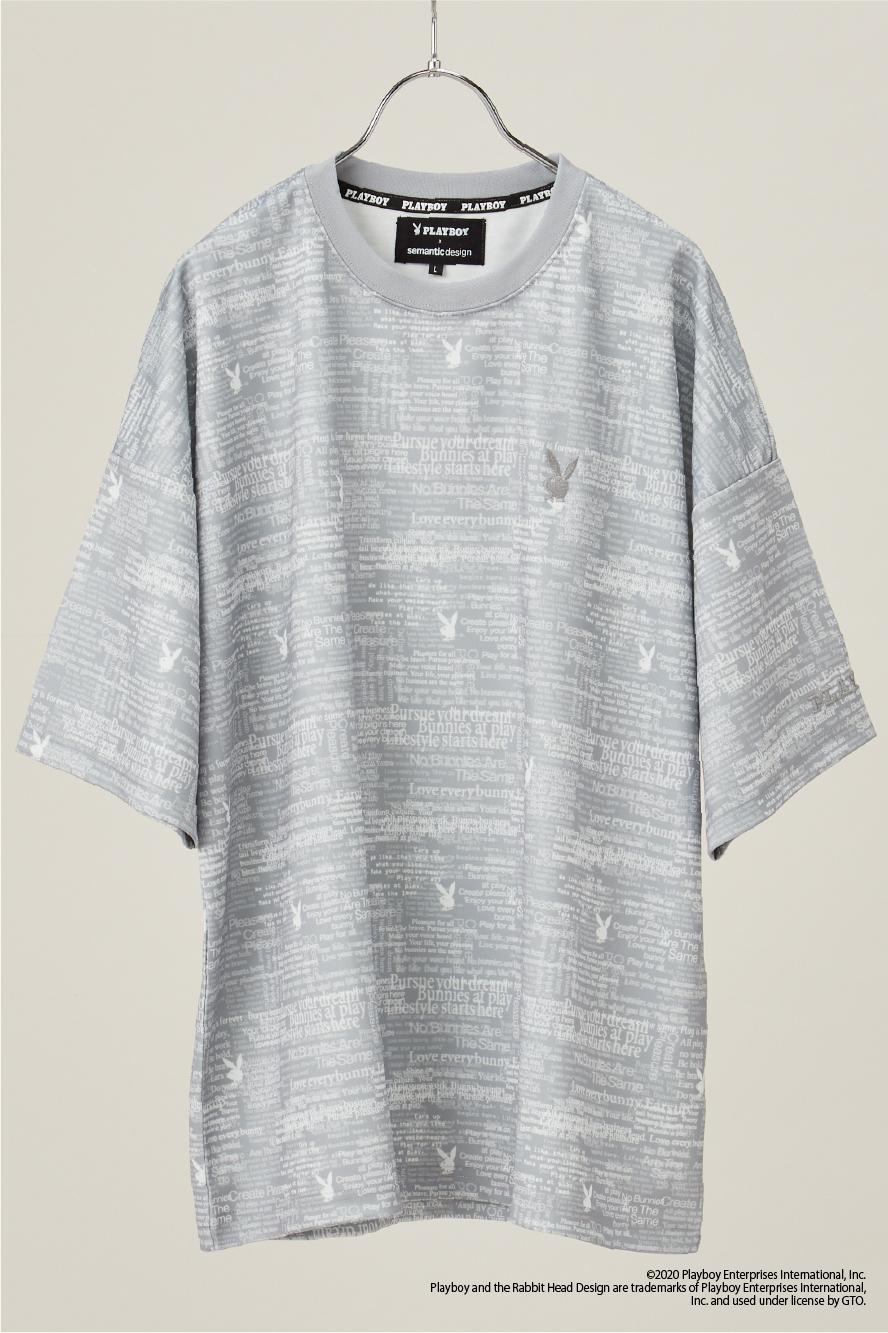 デジロゴ半端袖Tシャツ