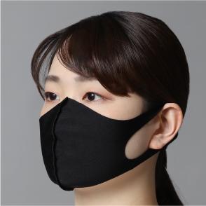 水着素材マスク(裏地無し)3枚セット 黒