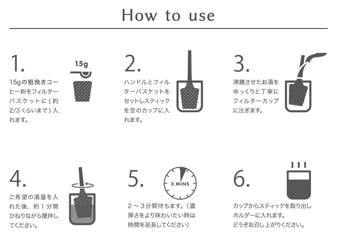 Brew It Stick HOW TO画像