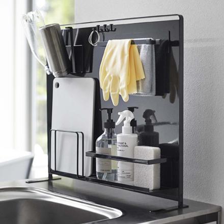キッチン自立式スチールパネル縦型