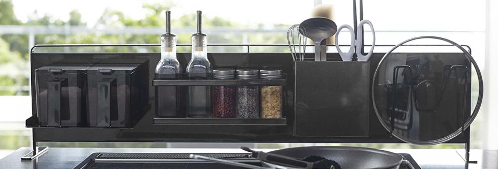 キッチン自立式スチールパネル横型