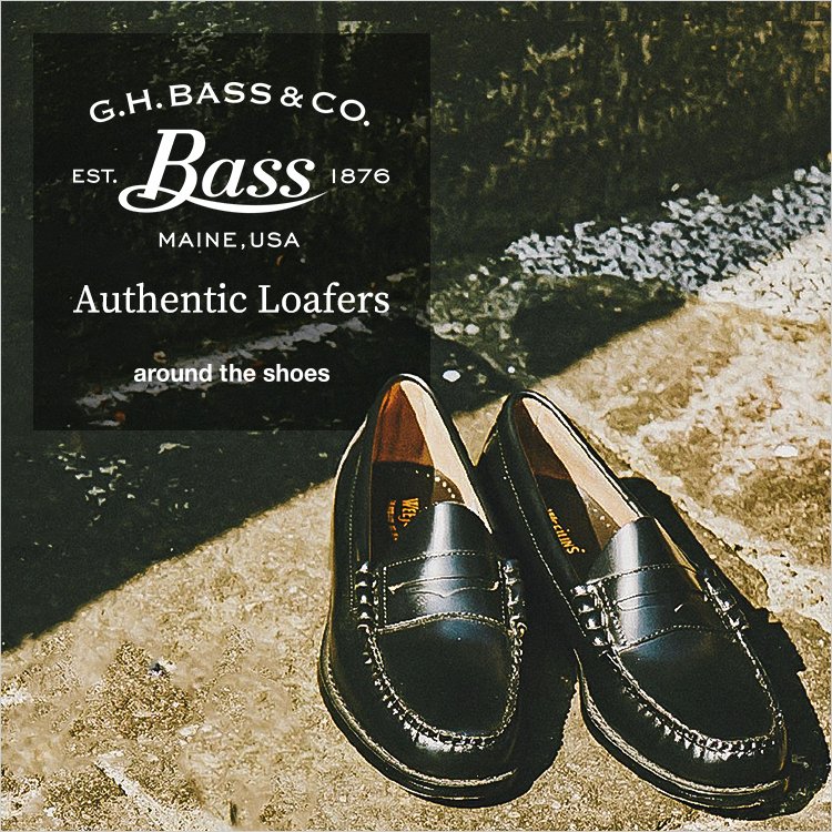 around the shoes(アラウンド・ザ・シューズ) G.H.BASS LOGAN  Authentic Loafers