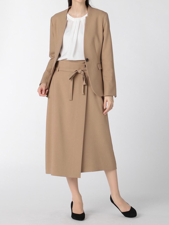 ウーリッシュ セットアップ フレアースカート キャメル