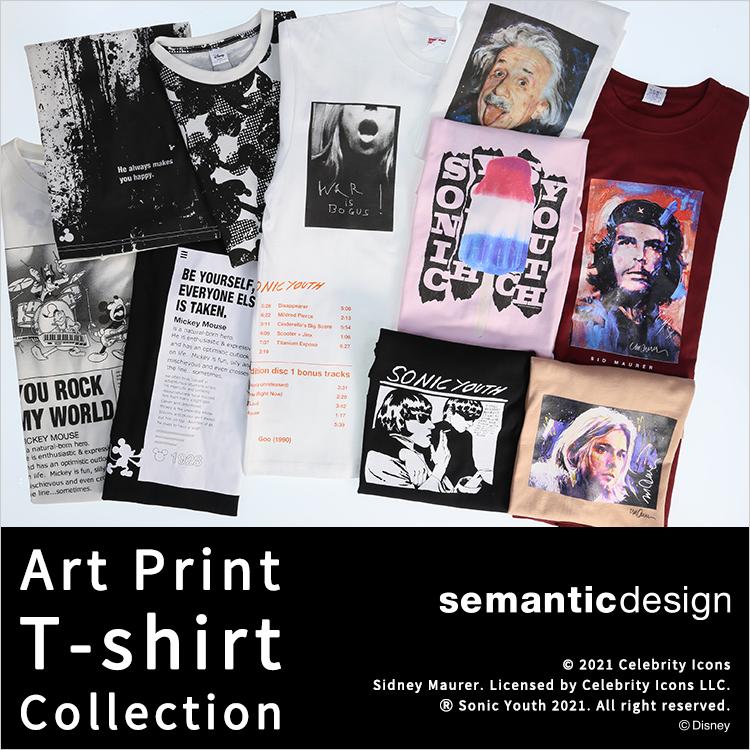 semanticdesign(セマンティックデザイン) Character T-shirt Collection