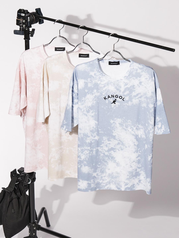 【WEB限定】アーチロゴ刺繍タイダイTシャツ