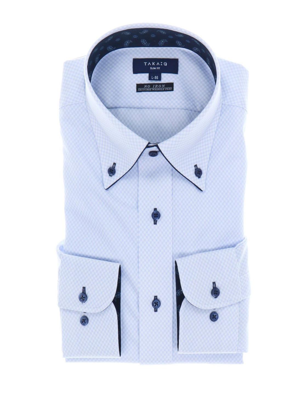 ニットシャツ長袖