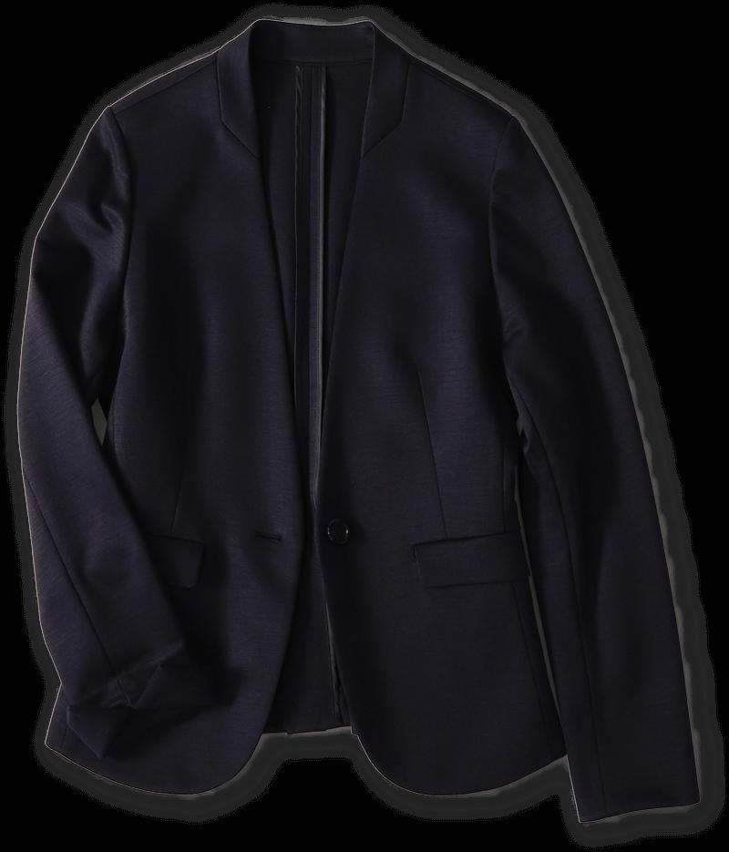 ラミーモクロディー<br>カラーレス1ボタンジャケット