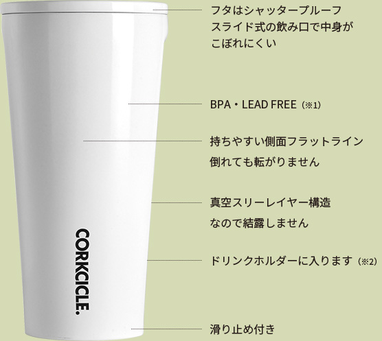 CORKCICLE. TUMBLER