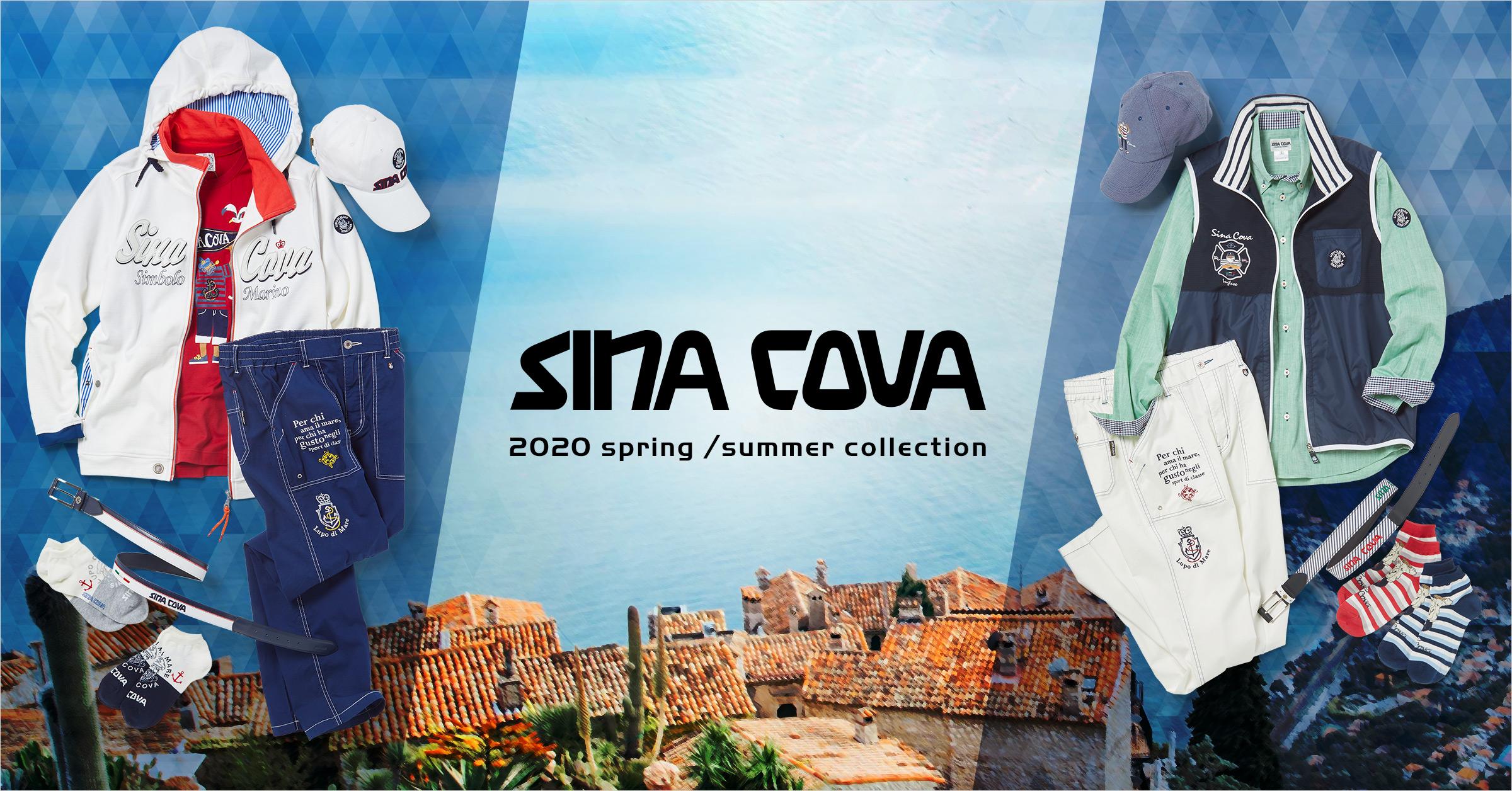 2020 Spring/Summer collection SINACOVA