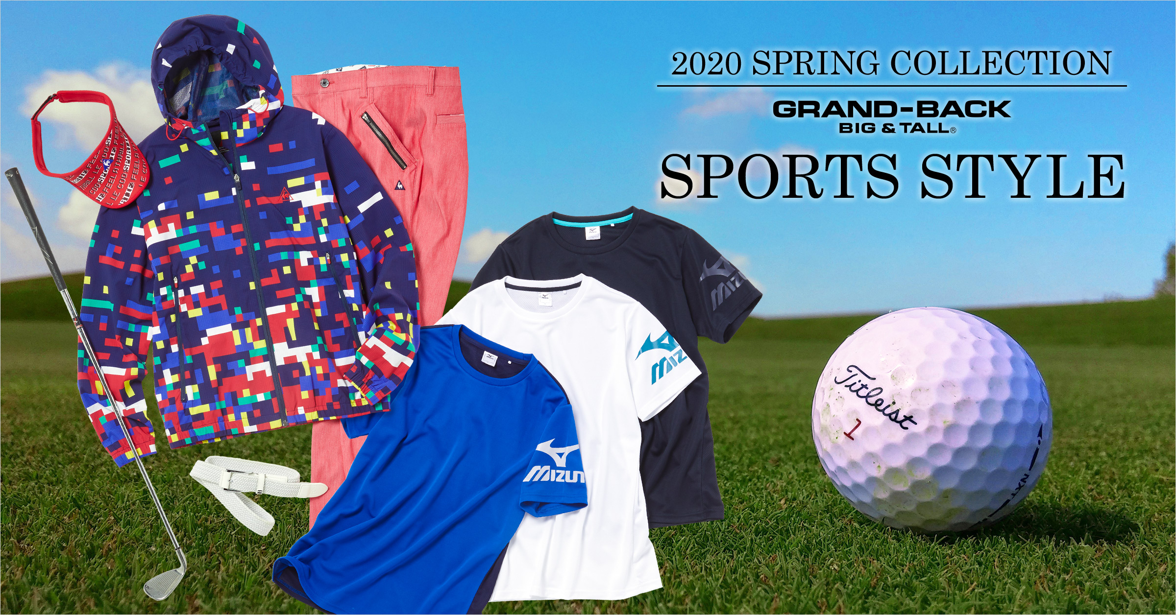 GRANBACK 2020.spring sports style