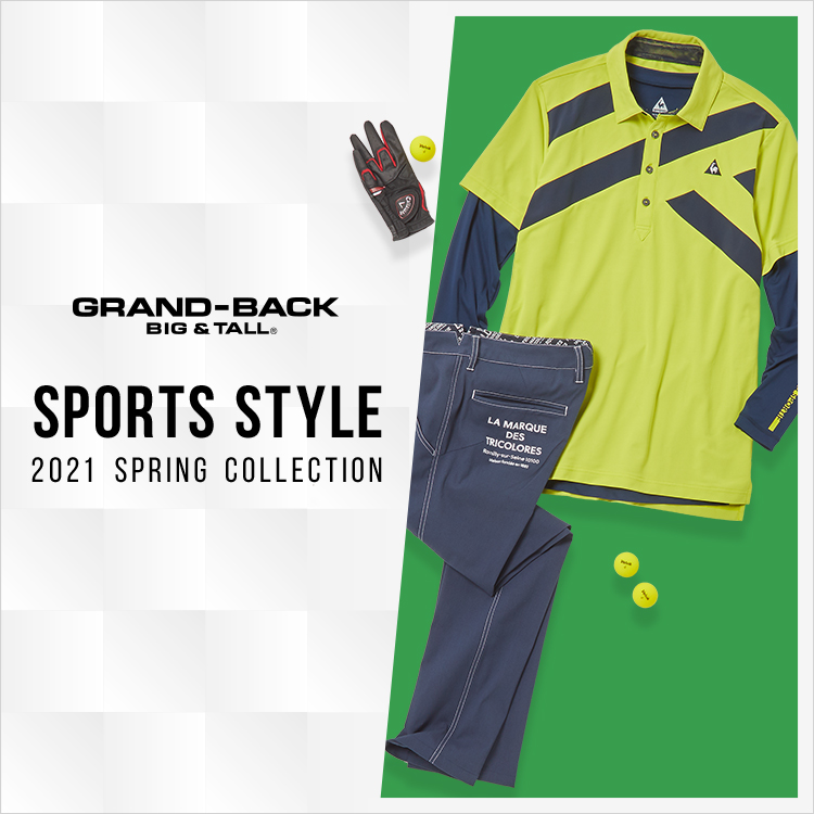 GRAND-BACK (グランバック) 2021 Spring Sports style(2021 スプリング スポーツスタイル)
