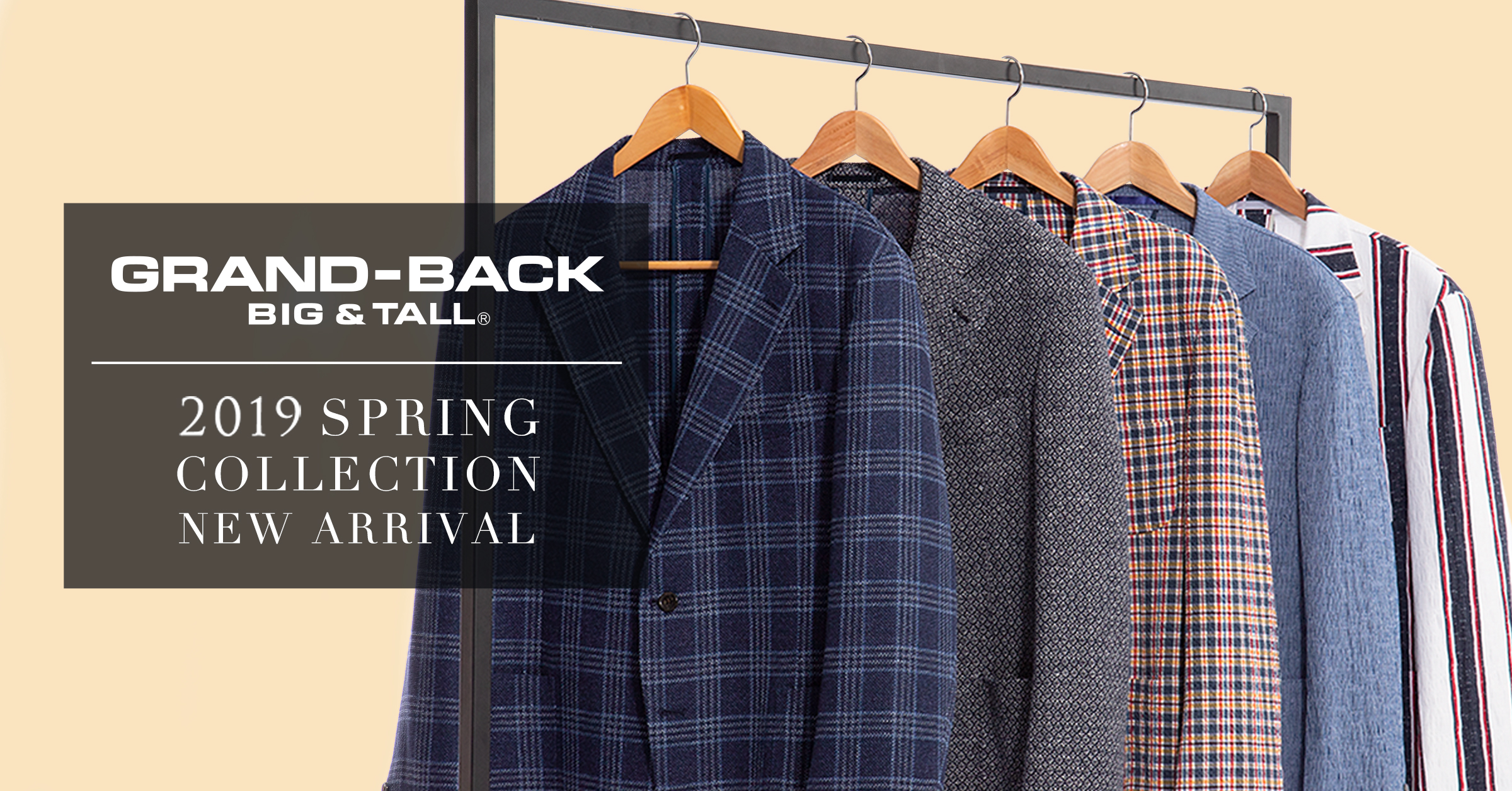 2019 Spring collection GRAND BACK